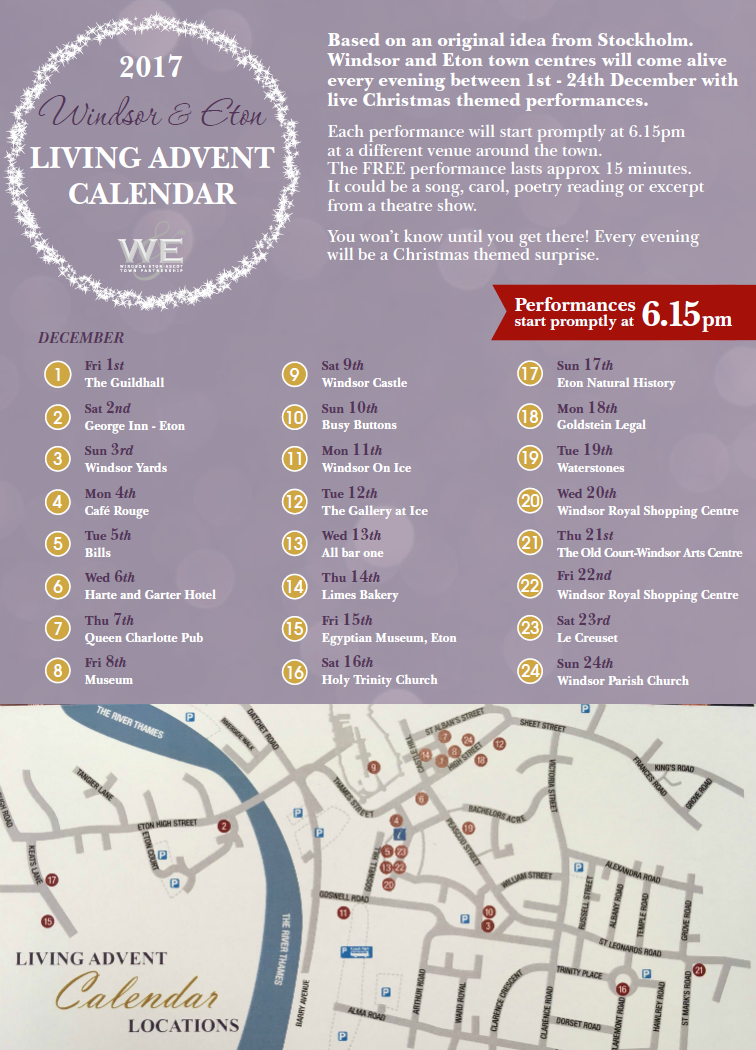 windsor calendar of events