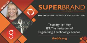 Roz presenting at Superbrand Zone on Property Issues 2019 May
