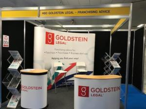 Goldstein Stand for British and International Franchise Exhibition 2019