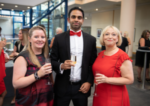 Goldstein Legal Team at the bfa Awards 2018 - Catrina Newman, Dayllen Patel and Roz Goldstein (left to right)