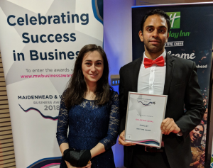Goldstein Legal were finalists in the Maidenhead & Windsor Business Awards 2018.