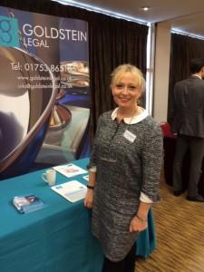 Goldstein Legal presenting at #franshow15 in Warwick