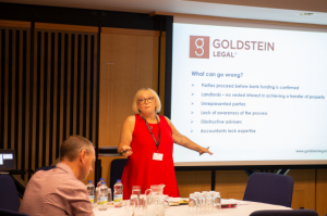 Roz Goldstein Presenting about Franchise Resales at the bfa Conference 2018