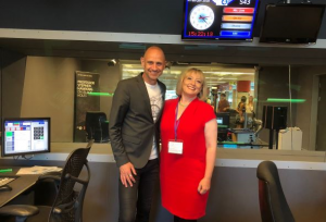 Roz Goldstein spoke about franchising on BBC Radio 4's The Bottom Line, with the host, Evan Davis