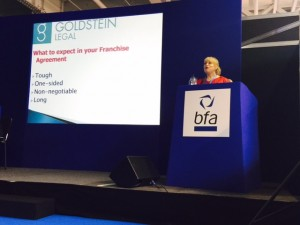 Speaking at Franchise Expo March 2015