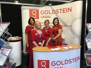 The Goldstein Legal team at Olympia March 2016